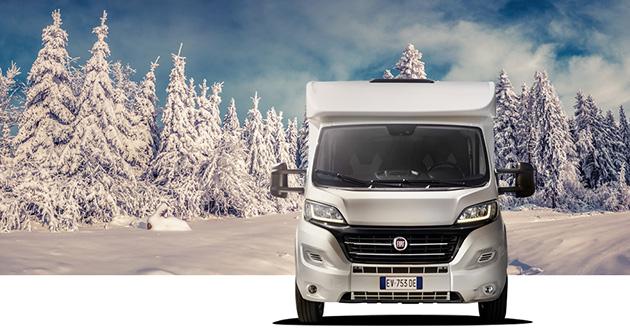 Zorg dat uw camper in de winter goed verzorgd in de stalling staat.